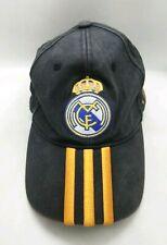 Real Madrid Adidas Dad Cap Hat Adjustable Blue Orange