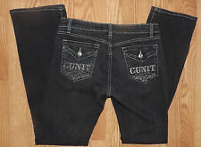 GUNIT CLOTHING SIZE 11 LOW RISE JEANS COMFY STRETCHY COMFY WOMENS BLACK JEANS