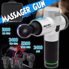 Electric Percussion Massage Gun Vibration Muscle Body Therapy Massager  u j °
