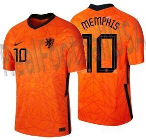 NIKE MEMPHIS DEPAY NETHERLANDS HOME JERSEY 2020 2021