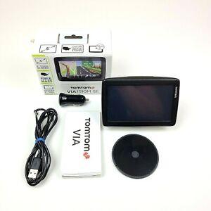 """TOMTOM VIA 1510M SE 5"""" GPS Navigator USA Lifetime Maps Tested and Working"""