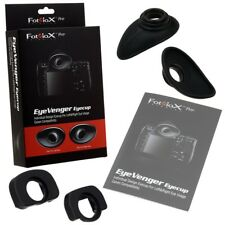 Fotodiox Pro EyeVenger Eyecup Kit for Canon Pro DSLRs, Individually Designed