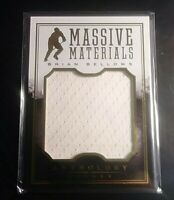 2014-15 Anthrology Hockey MASSIVE Materials Brian Bellows Game used Jersey #/125
