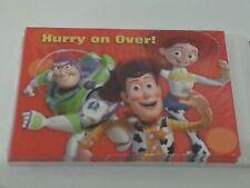 "Disney Pixar Toy Story ""Hurry on Over""  Invitations Birthday Invites"