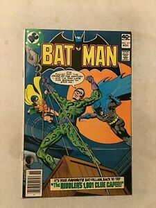 BATMAN #317 RIDDLER COVER