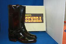 sendra boots biker  westernstiefel leder neu  gr. 6 1/2   fuchsia  gr. 39