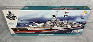 COBI Battleship Bismarck World of Warships SET# 3081 (1976 Pcs.) NEW, US SELLER