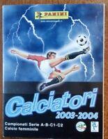 SET AGGIORNAMENTI FIGURINE CALCIATORI PANINI 2002/2003, NUOVO E COMPLETO