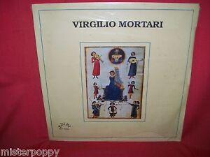 VIRGILIO MORTARI  Visione 1988 LP ITALY MINT Very Rare