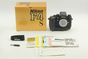 Brand New [UNUSED in BOX S/N 261XXXX] Nikon F4S 35mm Film Camera From Japan #084