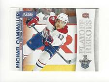 2010-11 Score Playoff Heroes #3 Michael Cammalleri Canadiens