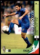 Panini Euro 2008 Trading Card Game - Gennaro Gattuso (Italy) No. 88