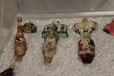 Merck Old World Christmas Ornament 12 Pc Bride's/Newlywed Ornaments Boxed Set G