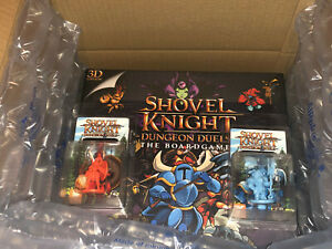 Shovel Knight: Dungeon Duels Board Game 3D deluxe - Kickstarter Exclusive Pledge