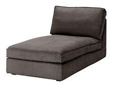 IKEA Kivik Chaise Lounge Slipcover Cover Tullinge Gray Brown 202.003.00 New