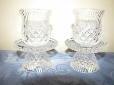 2 PartyLite P7654 Williamsburg Peglite Peg Votive Cup Candle Holders W/Bases
