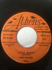 "Rockabilly 45/ Andy Wilson ""Little Mama""    Hear!"
