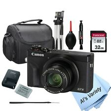 Canon PowerShot G7 X Mark III Digital Camera-32GB SD Card, Case , Tripod, More