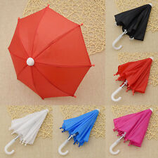 "Doll Umbrella 18"" Beautiful Girl Multicolor DIY Doll Accessories New Kids Toys"