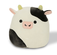"""Squishmallow Clover The Bull Cow 7"""" Plush Rare Hard To Find New COWS Canada"""