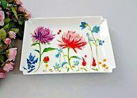 Villeroy & Boch ANMUT FLOWERS Platte Beilagenschale ca 17,5x12,5cm NEU V&B mehr