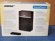 Bose SoundTouch 10 Streaming Bluetooth WLAN Lautspecher schwarz ohne Fernbedienu