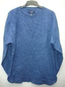 Nautica Blue Fleece Sleepwear Mens size L