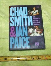 USED❤DVD•CHAD SMITH & IAN PAICE•LIVE Performances•Interviews•TechTalk•DRUM☮SHiP