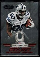 DEZ BRYANT 198/249 COWBOYS WR RED PRO BOWL BOUND #PB9 SP 2014 CERTIFIED PANINI
