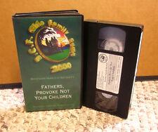 HAROLD BECKETT fellowship Fathers Provoke Not Your Children VHS sermon 2000 BCF