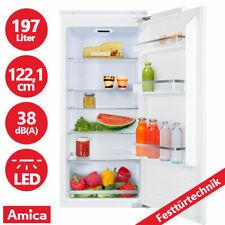 Amica 122cm Einbau Kühlschrank integrierbar Festtürtechnik Kühlgerät Einbaugerät