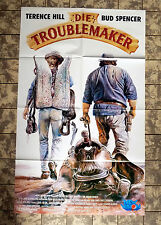 TROUBLEMAKER * VIDEO-POSTER 52x84cm  BUD SPENCER, TERENCE HILL - Botte di Natale