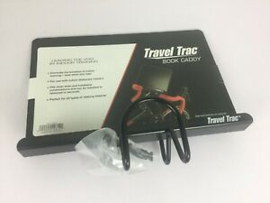 Travel Trac Book Tablet Caddy Handlebar Mounted Holder Indoor Cycling Cycle