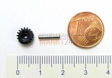 Ersatz-Zahnrad Z=17 + Achse 9,5 mm z.B. für ROCO Elektrolok BR 103 H0 - NEU