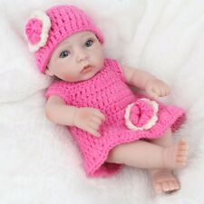 "Reborn Baby Doll 11"" Lifelike Silicone Vinyl Handmade Newborn Girl Doll IN STOCK"