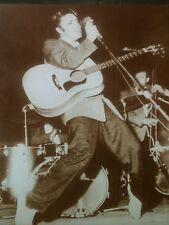 ELVIS PRESLEY POSTER PRINT On Stage 1950s