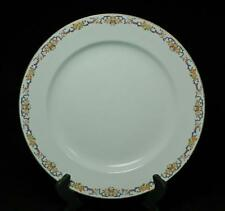 "Vintage Antique Charles Ahrenfeldt Limoges 12.5"" Oval Platter With Floral Border"