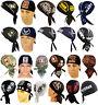 U.S. Military Doo Rags Army Navy Air Force Marine Coast Guard Bandana Skull Caps