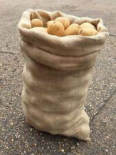5 x 50 KG EXTRA LARGE Hessiana iuta seme di patate verdure Caffè Deposito Sacchi-NUOVI
