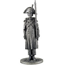 Imperial Guard.Grenadier in battle-order. Tin toy soldier 54mm. metal sculpture