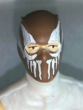 """Marauders Task Force 3.75"""" Male - Balaclava BROWN Mask with White """"FANG"""" Deco"""