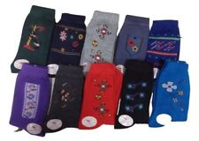 NEW 10 Pack Pairs Women/'s Junior/'s Roll Earth Multi-Colored Socks Size 9-11