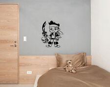 pirata ESPADAS Infantil dormitorio infantil Arte Pegatina Imagen Póster