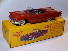 Ford Thunderbird rouge   - ref 555 au 1/43 de dinky toys atlas