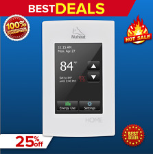 Nuheat Home Programmable Dual-Voltage Thermostat with Touchscreen AC0056, NEW