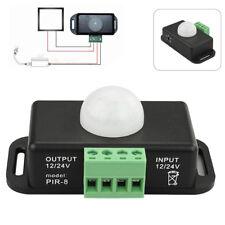 Automatic DC 12V-24V 8A Infrared PIR Motion Sensor Switch For LED light Best