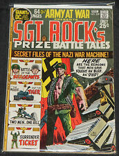 Vintage DC Bronze OUR ARMY AT WAR 7pc Low-Mid Grade Comic Lot VG-FN+ Sgt Rock