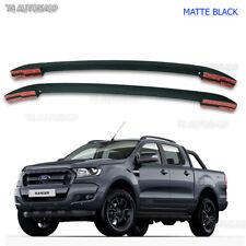 Matte Black Abs Roof Rack Bar For Ford Ranger T6 MK2 Px4 PX WILDTRAK 2012 - 2017
