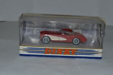 DINKY COLLECTION 1956 CHEVROLET CORVETTE MODEL CAR BOXED