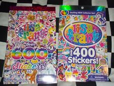 NEW lot of LISA FRANK STICKERS CRAFTS COLLECT TRADE SCRAP BOOKING HOBBY ART